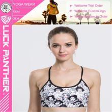 Customized Impresso Cheerleading Supportive Padded Sports Bra