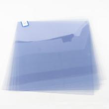 OCAN super clear plastic pvc blue film roll