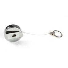 Выдвижная катушка со стальным шнуром для удостоверения личности