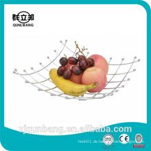 Quadratische Form Küche Metall Draht Obstkorb / Obsthalter