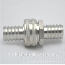 Stainless steel water hose coupler