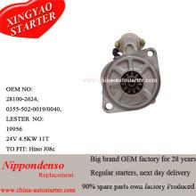 4.5kw 24V Hino стартерные двигатели производителей (2810078061)