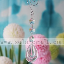 Orecchino Teardrop Chandelier Dropping Prism 15CM per la decorazione