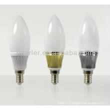 Lumière de candélabre LED 220V éclairée pour le dîner léger au candel