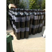 99.9% de gaz de coke rempli dans le gaz de cylindre de 9L avec la valve