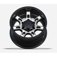 4X4 Alloy Wheels with black machine face UFO-793