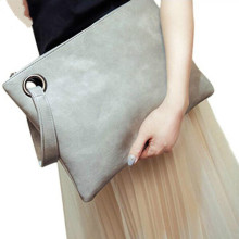 Latest+Ladies+Elegance+Leather+Large+Trendy+Clutch+Bag