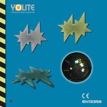 Reflective Bicycle Wheel Clip with CE En13356, Reflective Spoke Clip, Plastic Clip
