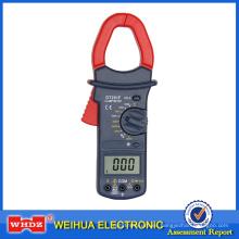 Medidor de abrazadera de alta tensión DT201F con medición de frecuencia
