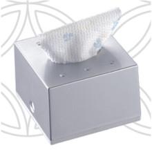 Silver Squre Decorative Fancy Public Car Wholesale Wall Mounted Plastic Facial Tissue Paper Box Holder