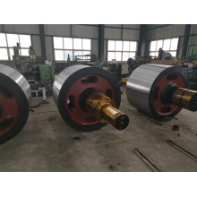 Cast Steel Grinding Mill Rotary Kiln Support Roller
