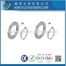 Fabriqué à Taiwan en acier inoxydable bricolage serre-câbles Double Wire