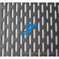 Galvanized Ellipses Hole Perforated Metal Mesh, Stainless Steel