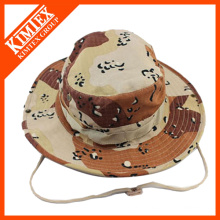 Wholesale Custom Cheap Printed Embroidered Bucket Hat With String