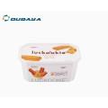 Recipiente de manteiga de embalagens de alimentos de laticínios 16oz