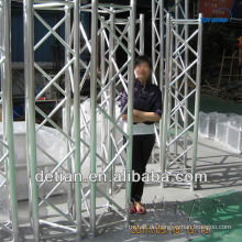 Messestand Portable benutzte Aluminiumbinder-Rohrfachwerk in Shanghai