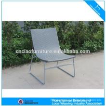 Meubles de jardin pas cher PE chaise en plastique chaise inclinable en rotin