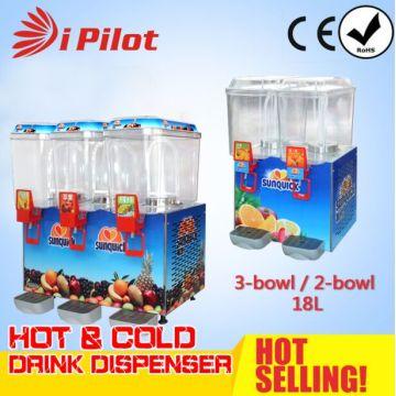 Premix 2-Bowl 18L máquina de bebida fria