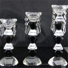 Высокое качество рекламных дешевые цилиндр вотивные роскошный стеклянный подсвечник