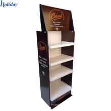 Étagère chaude de support d'affichage de parfum de carton de vente, nouveau présentoir de parfum de conception