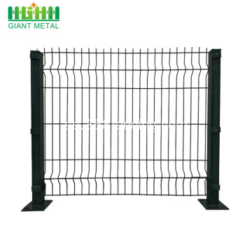 Pulverlackat Triangle Bend Wire Mesh Staket