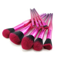 9PC Ombre Makeup Brush Set