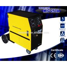 Утвержденный CE высококачественный податчик проволоки Компактная однофазная сварочная машина для сварки СО2 с газом MIG Сварочная машина 200AMP