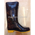 botas de lluvia Botas de goma de alta calidad del pvc