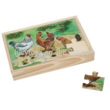 Wooden Custom Children Jigsaw Puzzle