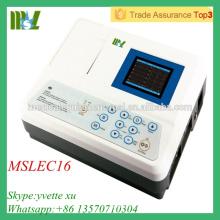 CE et ISO approuvé machine EGC à trois canaux (MSLEC16)