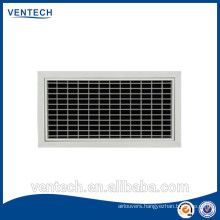 Aluminum supply air grille/air diffuser