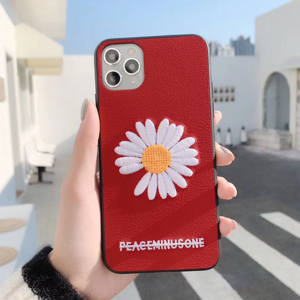 Red Embroidery Phone Case