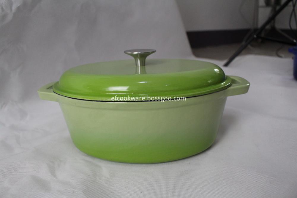 Home cooking cast iron enamel pot