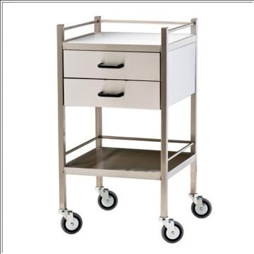 Stainless steel Hospital dressing trolley
