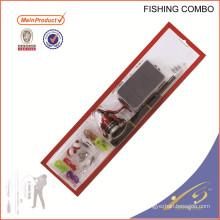 FDSF103 trastos de pesca de china de weihai nuevo conjunto carrete de la barra de pesca combo