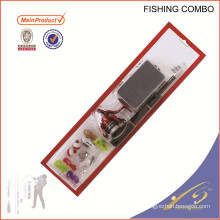 FDSF103 weihai china pesca enfrentar novo conjunto vara de pesca carretel de combinação