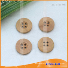 Natural Wooden Buttons for Garment BN8016