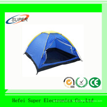 Tente de camping à deux couches de poteau en aluminium pour 5-8 personnes