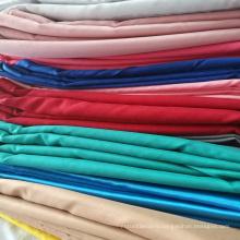 Stretch satin spandex 100 polyester fabric
