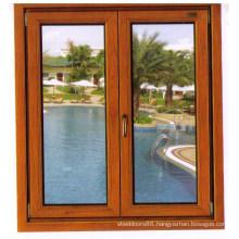 Aluminium + Wood Window (AW-C004)