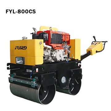 Durable Diesel Engine Hand Vibratory Roller for Bitumen Compacting
