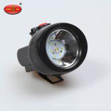 Led lithium battery waterproof headlamp Helmet miner lamp Charging outdoor headlights