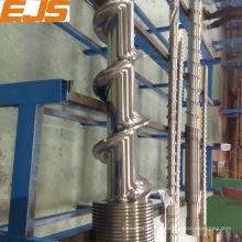 38CrMoAlA nitrurado tornillo y barril para la máquina de goma