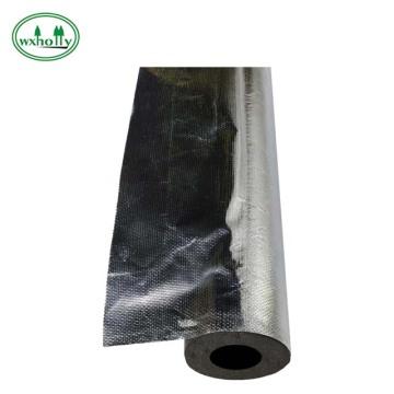 espuma de goma de aislamiento térmico de burbujas revestida con papel de aluminio