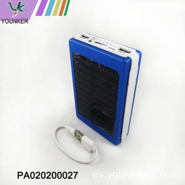 Mini power bank con luces