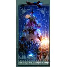 мода Рождество оптического волокна освещенные дома