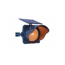 Luz de sinal posta solar amarela do tráfego de 300mm