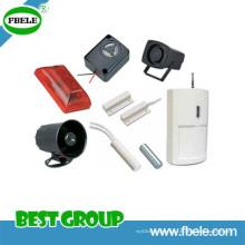 Elektronische Sirene / Piezo Alarm / Magnetischer Kontakt Fbes8277