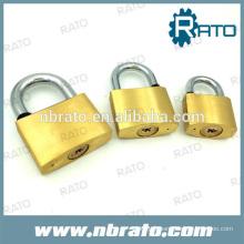 Coussin en triangle de durcissement de 40 mm pour cadenas de sécurité Coussinet en laiton