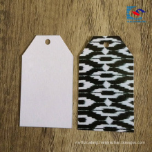 New Design Custom Logo Clothes Hang Tag with hole pucnch
